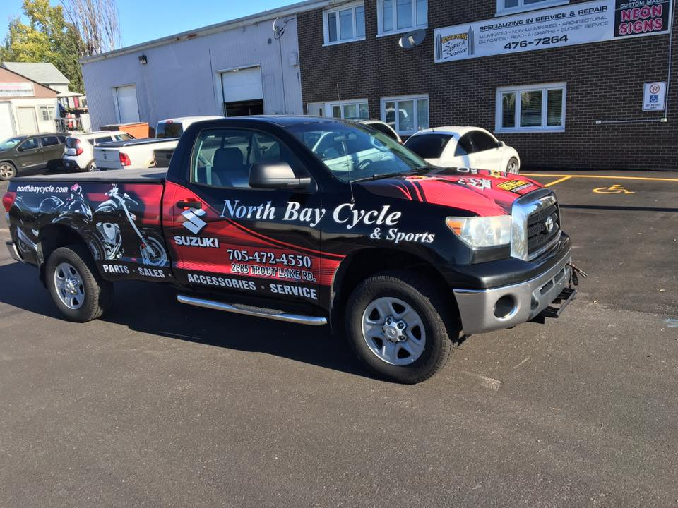 North Bay Cycle & Sports - Truck Wrap