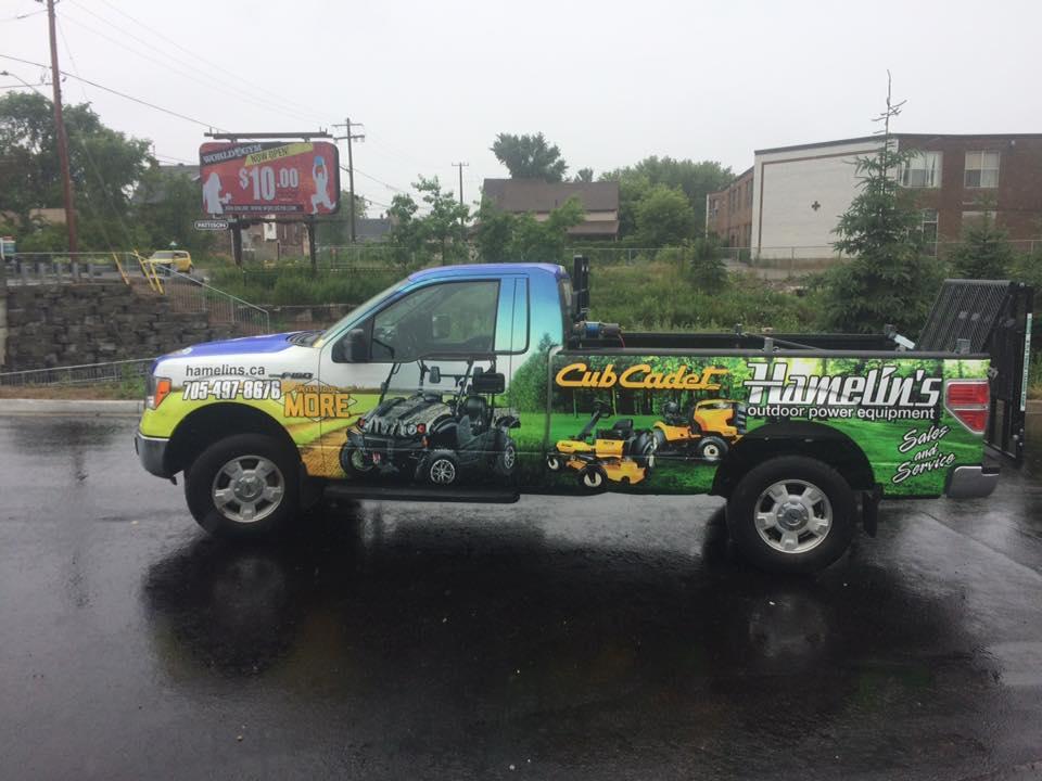 Hamelin's Outdoor Motor Equipment - Vehicle Wrap