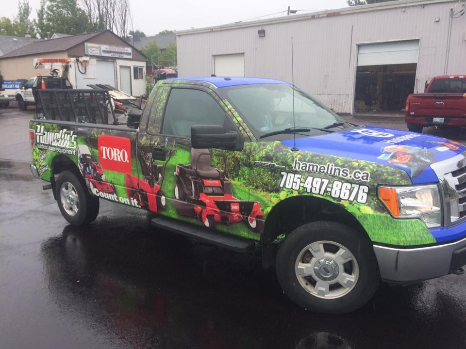 Hamelin's Outdoor Motor Equipment - Truck Graphics