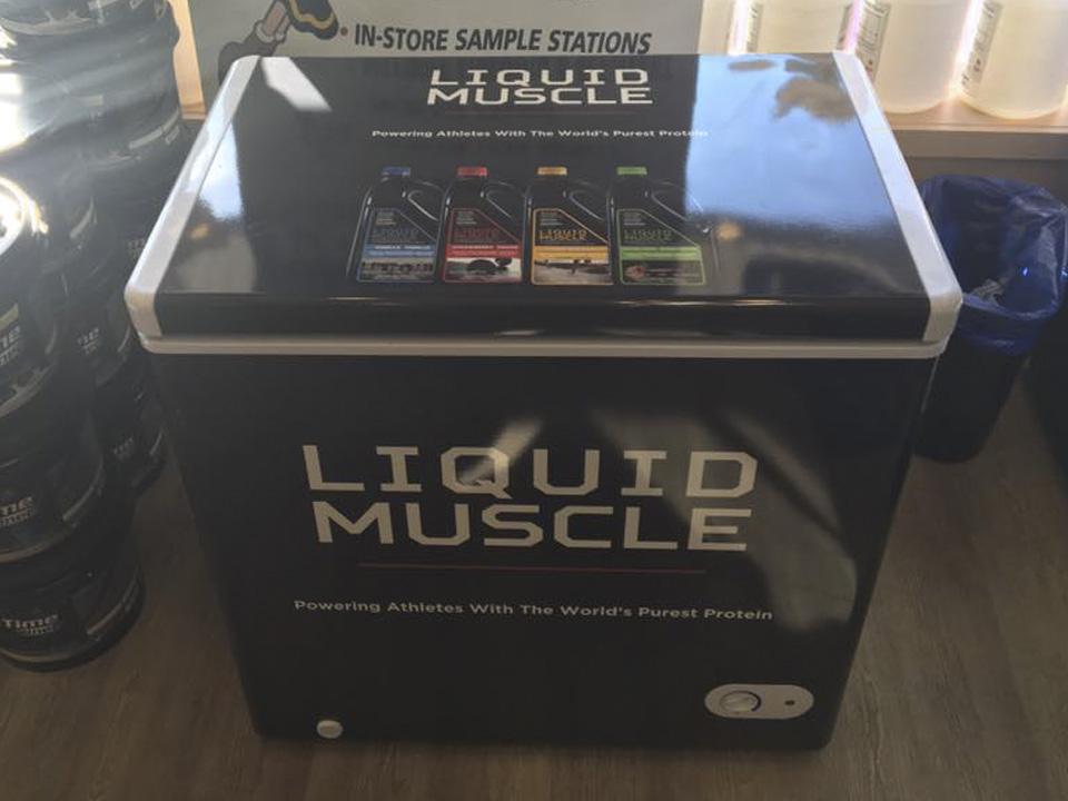 Liquid Muscle - Custom Freezer Wrap