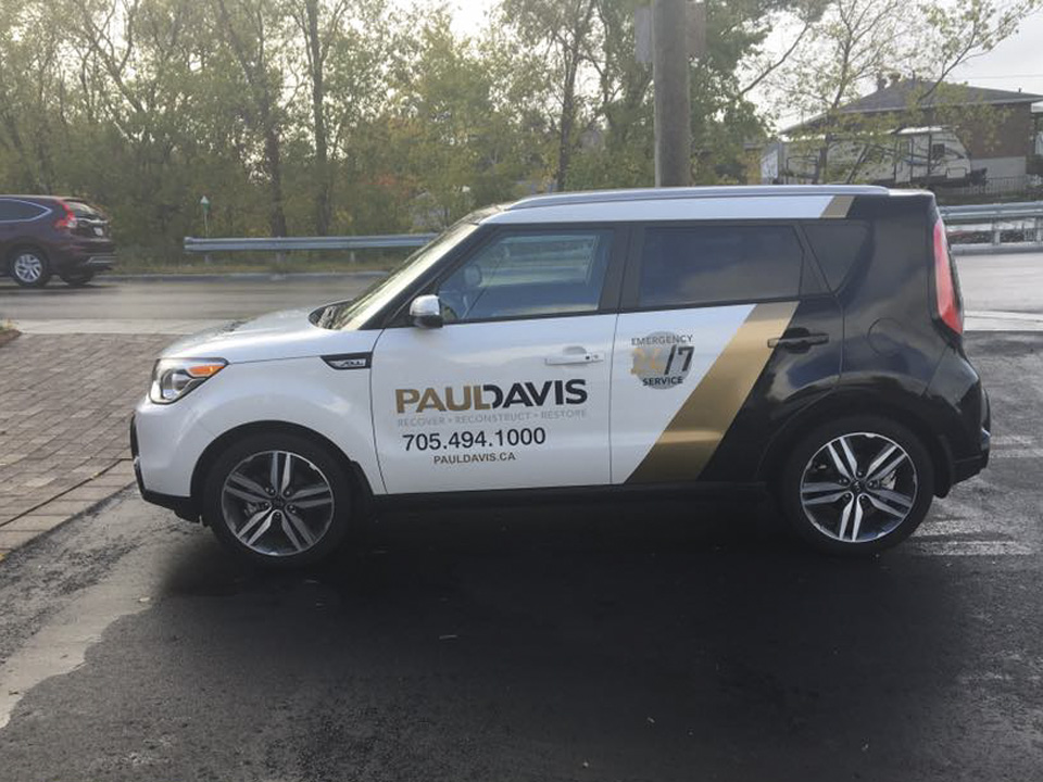 Paul Davis - Vehicle Wrap
