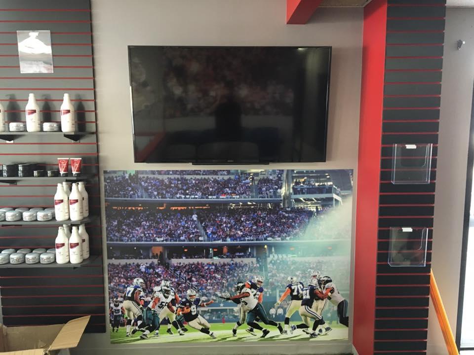 Sportscut - Wall Graphics